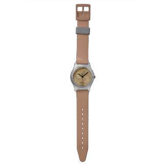 Vintage Old World Map History-lover's design Wristwatch