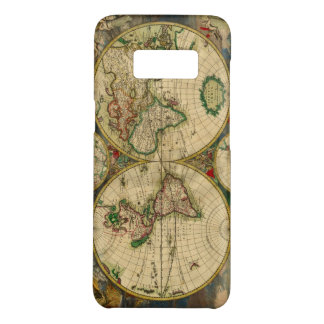 Vintage old world Maps Antique map Case-Mate Samsung Galaxy S8 Case