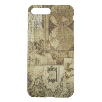 Vintage old world Maps Antique map iPhone 7 Plus Case