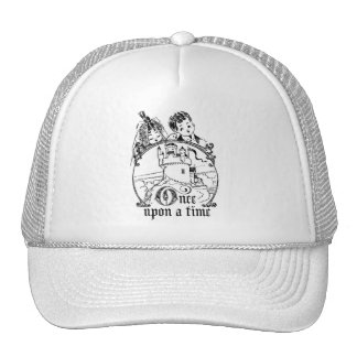 Vintage Once Upon a Time Apparel Decor and Gifts Mesh Hat