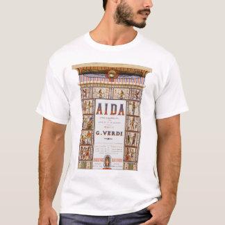 Vintage Opera Music, Egyptian Aida by Verdi T-Shirt