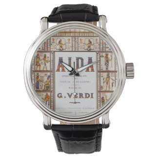 Vintage Opera Music, Egyptian Aida by Verdi Watch