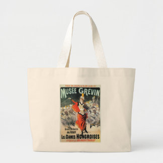 Vintage Orchestra Performance Ad Tote Bag