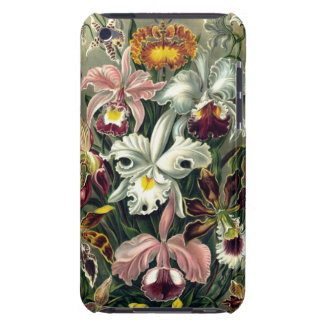 Vintage Orchid Botanical Print iPod Touch Case-Mate Case