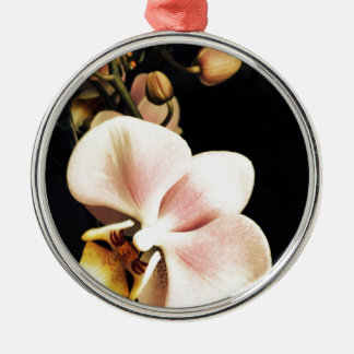 Vintage orchid christmas ornament