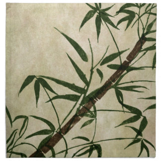 Vintage Oriental Bamboo 1 Napkin