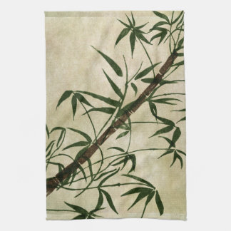 Vintage Oriental Bamboo 1 Tea Towels