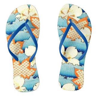 Vintage Oriental Design Flip-Flops Flip Flops