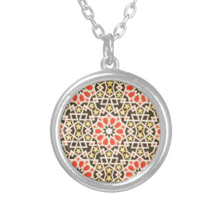 Vintage Oriental Islamic Pattern Design Pendants