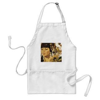 Vintage oriental lady apron