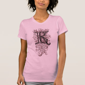 Vintage Ornate Monogram 'K' - Shirt Tshirts