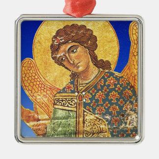 Vintage orthodox ikon, Angel Gabriel Christmas Ornament
