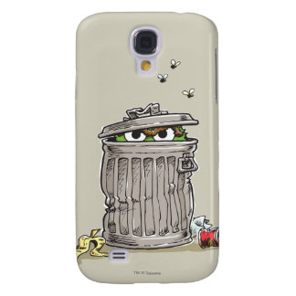 Vintage Oscar in Trash Can Galaxy S4 Case