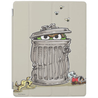 Vintage Oscar in Trash Can iPad Cover