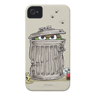 Vintage Oscar in Trash Can iPhone 4 Covers
