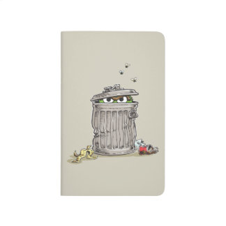 Vintage Oscar in Trash Can Journal