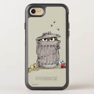 Vintage Oscar in Trash Can OtterBox Symmetry iPhone 7 Case