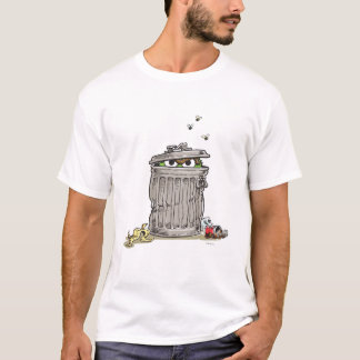 Vintage Oscar in Trash Can T-Shirt