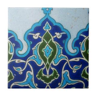 Vintage Ottoman era Iznik tile design