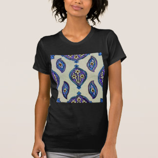 Vintage Ottoman Tile FLORAL Abstract  DESIGN Shirt
