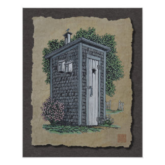 Vintage Outhouse Posters