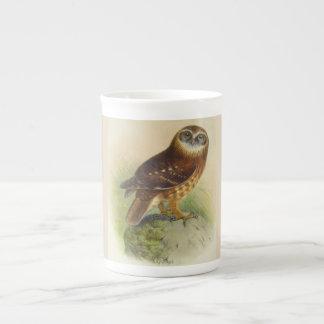 Vintage Owl Bone China Mug
