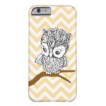 Vintage Owl iPhone 6 case Barely There iPhone 6 Case