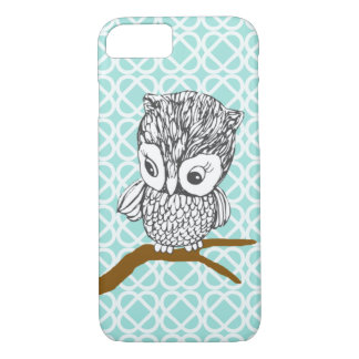 Vintage Owl iPhone 7 case