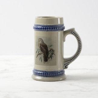 Vintage Owl Stein Mug