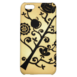 Vintage Owl Tree Cover For iPhone 5C