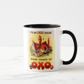 Vintage OXO Ad - It's And Odd House Where There's  Mug