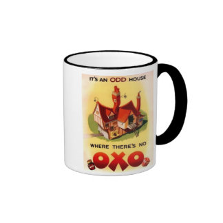 Vintage OXO Ad - It's And Odd House Where There's  Ringer Mug