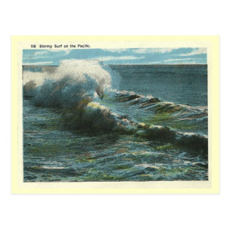 Vintage Pacific Surf Post Cards