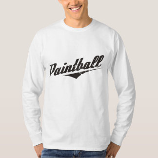 Vintage Paintball Long Sleeve T-Shirt