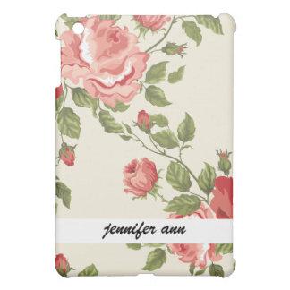 Vintage Painted Rose Vines iPad Mini Cases