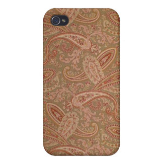 vintage paisley cover for iPhone 4