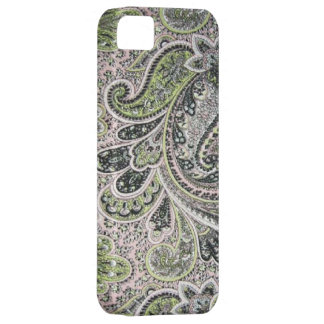 Vintage Paisley Pink Sage Case-Mate iPhone 5 iPhone 5 Case
