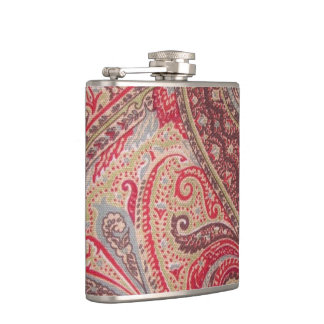 Vintage Paisley Print for the Ladies Flask