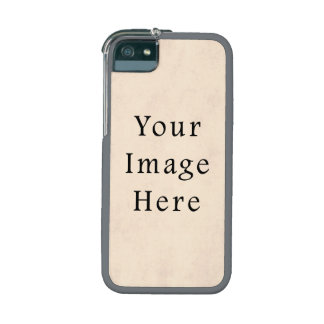 Vintage Pale Yellow Cream Parchment Paper Template Case For iPhone 5