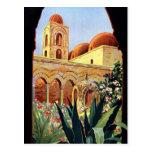 Vintage Palermo Sicilia Postcards