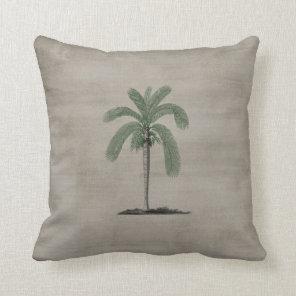 Vintage Palm Tree Cushion