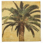 Vintage Palm Tree - Tropical Customised Template Printed Napkin