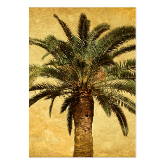 Vintage Palm Tree - Tropical Customized Template Business Card Templates