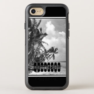 Vintage Palm Trees OtterBox Symmetry iPhone 8/7 Case
