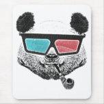 Vintage panda 3-D glasses