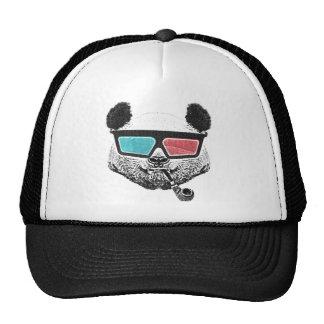 Vintage panda 3-D glasses Cap