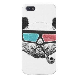 Vintage panda 3-D glasses iPhone 5/5S Cover