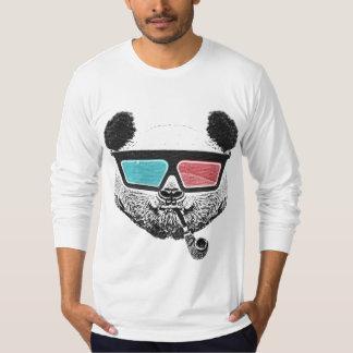 Vintage panda 3-D glasses T-Shirt