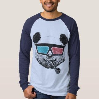 Vintage panda 3-D glasses Tee Shirt