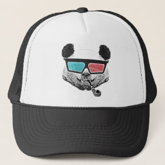 Vintage panda 3-D glasses Trucker Hat